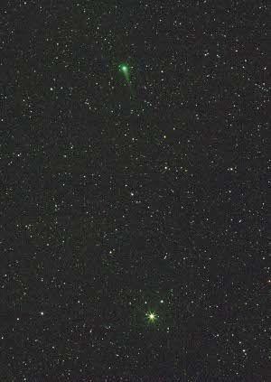 Comète C/2007 N3 - Lulin (© 2009 Michel Vampouille, Saplimoges)