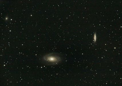 M81 et M82 / NGC 3031 et NGC 3034 / Galaxies de Bode et du Cigare dans la Grande Ourse (© 2009 Christophe Mercier, saplimoges)