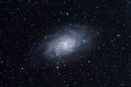 """<a href=""""http://saplimoges.fr/limage-du-mois-de-decembre-2010-la-galaxie-du-triangle-m33/""""><b>M33 / NGC 598 / galaxie spirale du Triangle (©2010 Christophe Mercier, saplimoges)</b></a>"""