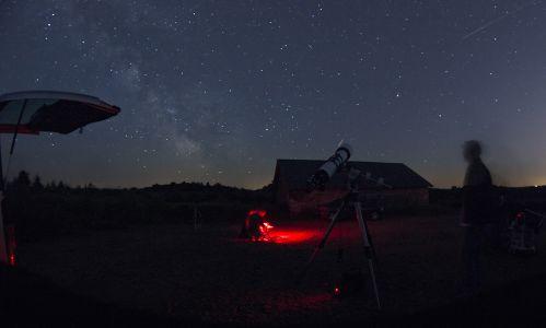 Nuit d'observation du 5 juillet 2013 (© 2013 Denis Lefranc, saplimoges)
