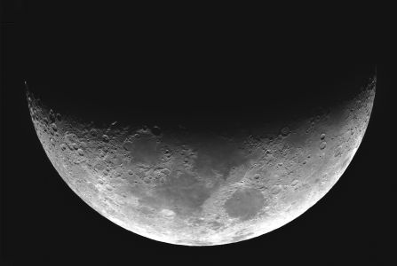 Lune du 6 mars 2014 (© 2014 Denis Lefranc, saplimoges)