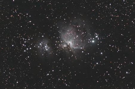 La Grande Nébuleuse d'Orion M 42 (©2014 Michel Vampouille, saplimoges)