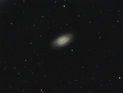 M 64, la galaxie de l'Oeil Noir (©2016 Jean Pierre Debet, saplimoges)