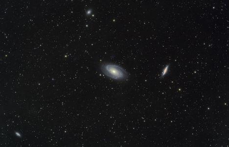 M81 et M82 (© 2012 Christophe Mercier 2013 Saplimoges)