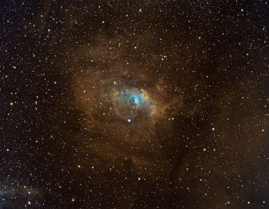 NGC7635 Nébuleuse de la Bulle (©2020 Julien Denis, saplimoges)