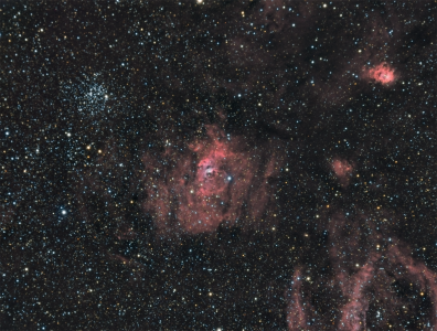 NGC 7635 / Nébuleuse de la Bulle (©2015 Jean-Pierre Debet, saplimoges)