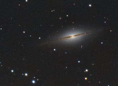 NGC 7814 Galaxie(© 2014 Jean Pierre Debet 2014 Saplimoges)