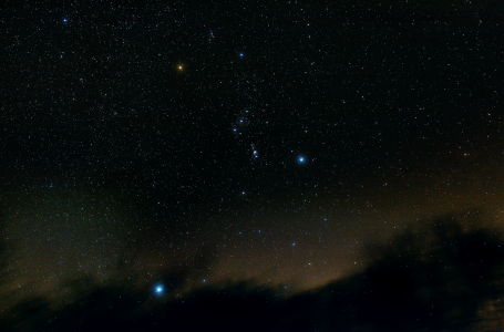 La constellation d'Orion (©2016 Michel Tharaud, saplimoges)