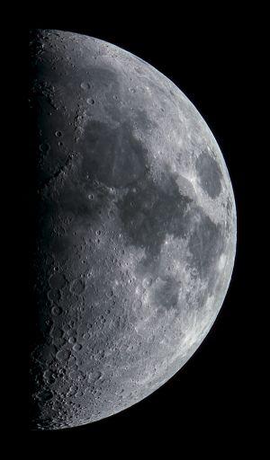 Lune du 16 juin 2013 (© 2013 Denis Lefranc, saplimoges)