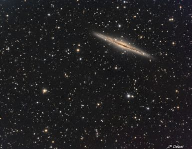 NGC 891 Galaxie (© 2014 Jean Pierre Debet, saplimoges)