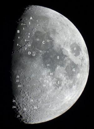 Géographie lunaire(© 2012 Denis Lefranc, saplimoges)