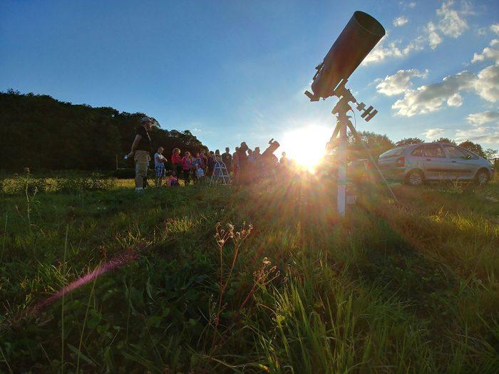 une soirée aux étoiles au lac de Saint-Pardoux en Limousin