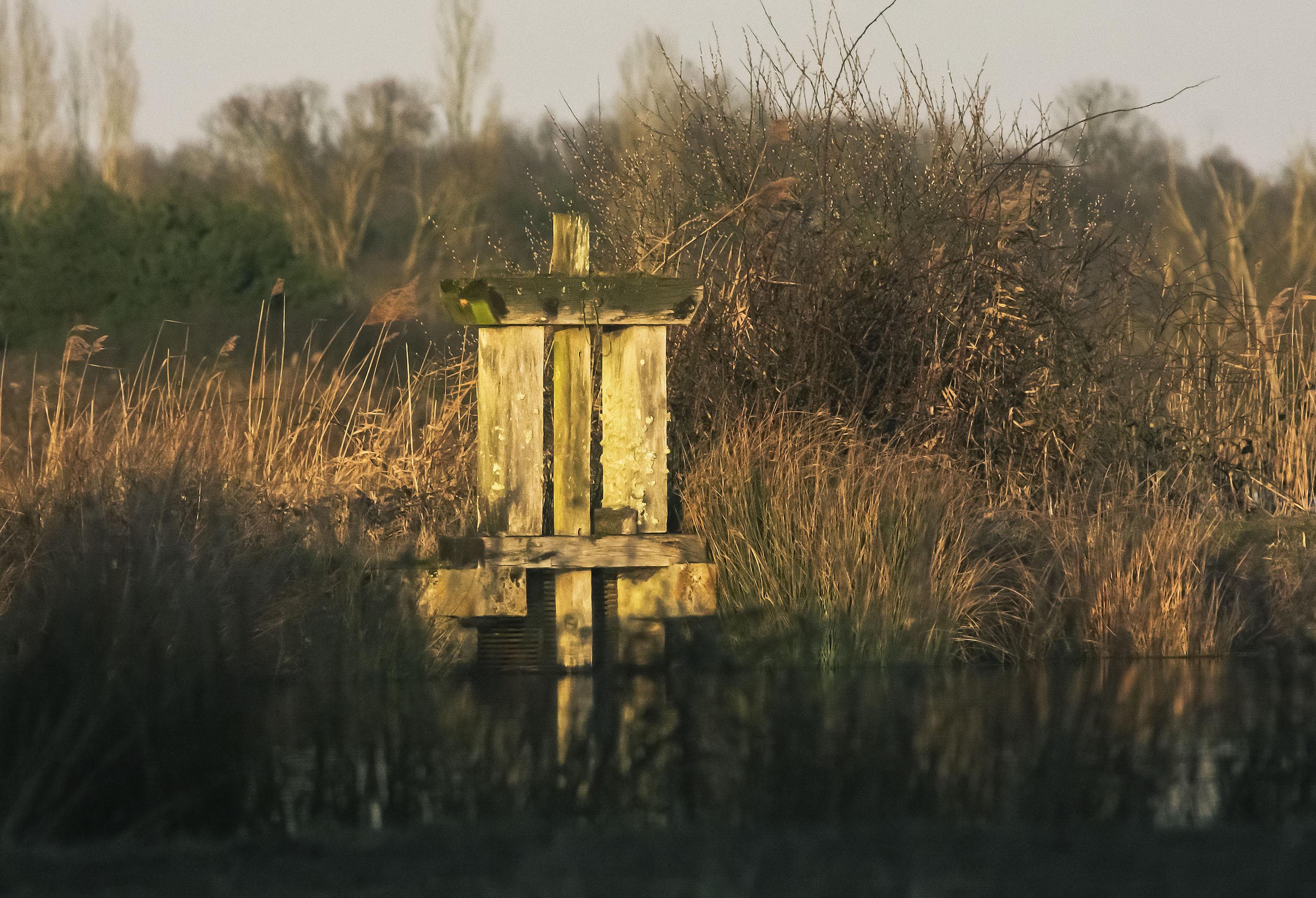 Bonde de l'étang du Sault