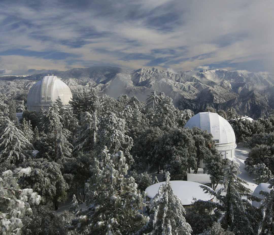 Mount Wilson in Snow