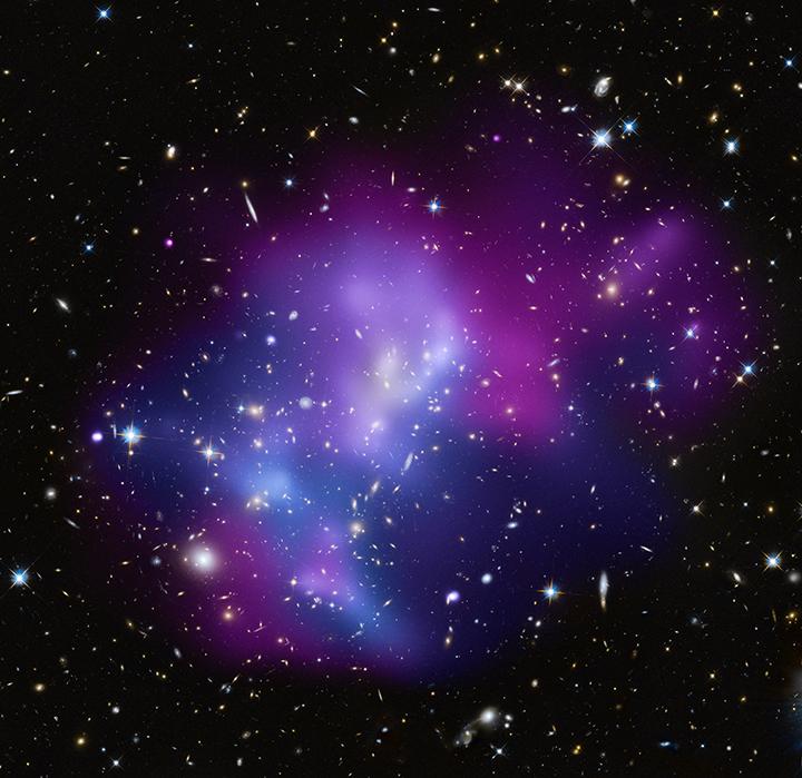 amas de galaxies